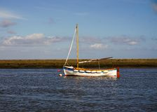 Sailing dinghy Royalty Free Stock Photography