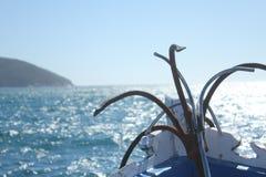 Sailing and diving Stock Photos