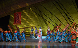 "Sailing dream-Dance drama ""The Dream of Maritime Silk Road"" Royalty Free Stock Photo"