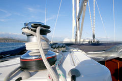 Sailing equipment Stock Photos