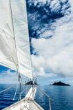 Sailing Fiji Royalty Free Stock Photo