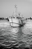 Sailing fishing boat Royalty Free Stock Images