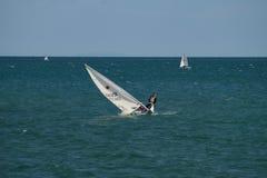 Sailing in Gaeta Royalty Free Stock Images