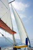 Sailing on Garda lake Royalty Free Stock Photography