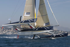 Sailing - Gitana 11 Trimaran Stock Photos
