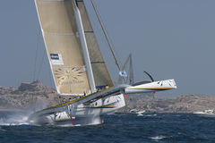 Sailing - Gitana 12 Trimaran Stock Photography