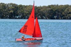 Sailing in Gold Coast Queensland Australia stock image