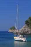 Sailing in Greece Stock Photo