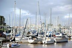 Sailing harbor Royalty Free Stock Photography