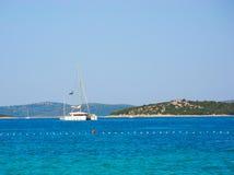 Sailing Holidays Croatia. Royalty Free Stock Photo