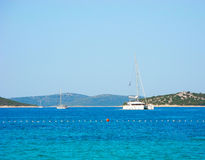 Sailing Holidays Croatia. Stock Photo