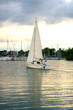 Sailing Home Royalty Free Stock Images