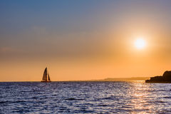 Sailing home from distant waters Royalty Free Stock Photo