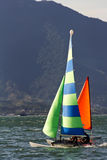 Sailing in Ilhabela - Brazil Royalty Free Stock Photos