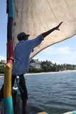 Sailing. Kenya. Stock Images