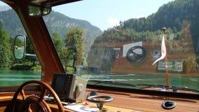 Sailing at Koenigsee 9 Royalty Free Stock Photography