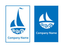 Sailing logos Stock Photos