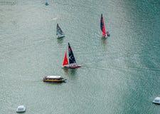 Sailing/ Marina Reservoir /Lunar New Year Stock Photo