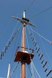 Sailing mast Stock Image