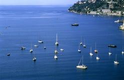 Sailing the Mediterranean Stock Image
