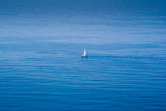 Sailing in the Mediterranean Royalty Free Stock Photo