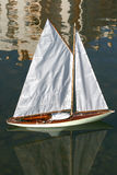 Sailing Model Boat III Royalty Free Stock Image