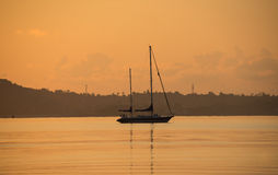 Sailing in the morning. This is a photo of  sailing in the morning Stock Photo