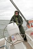Sailing in the Netherlands Royalty Free Stock Photography