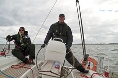 Sailing in the Netherlands Stock Images