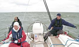 Sailing in the Netherlands Stock Photography