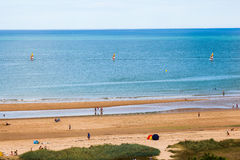 Sailing on Normandy Royalty Free Stock Images