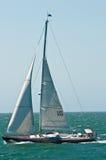Sailing the north Atlantic Stock Photography