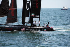 Sailing with oracle Royalty Free Stock Photography