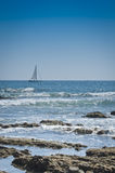 Sailing out to Sea Royalty Free Stock Photos