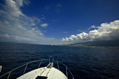Sailing on the Pacific Stock Photography