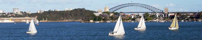 Sailing on the Parramatta, Sydney, NSW Royalty Free Stock Photos