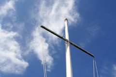 Sailing pole Stock Images