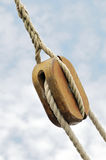 Sailing pulley Royalty Free Stock Images