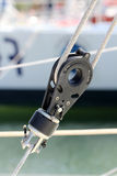 Sailing pulley Royalty Free Stock Photos
