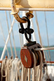Sailing Pulley Block Royalty Free Stock Images