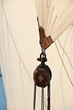 Sailing Pulley Block Royalty Free Stock Photo