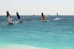 Sailing race Stock Photos