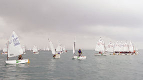 Sailing race 013 Royalty Free Stock Photo