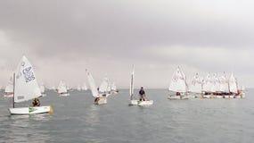 Sailing race 013 Royalty Free Stock Photo