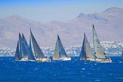 Sailing race Royalty Free Stock Photos