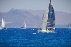 Sailing race Royalty Free Stock Images