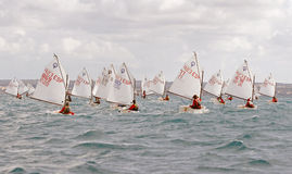 Sailing race 025 Royalty Free Stock Photography