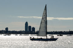 Sailing - Recreation and Sport Stock Photo