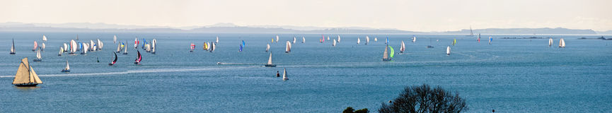Sailing regatta Royalty Free Stock Images