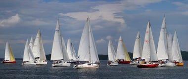 Sailing regatta 2015 Royalty Free Stock Image